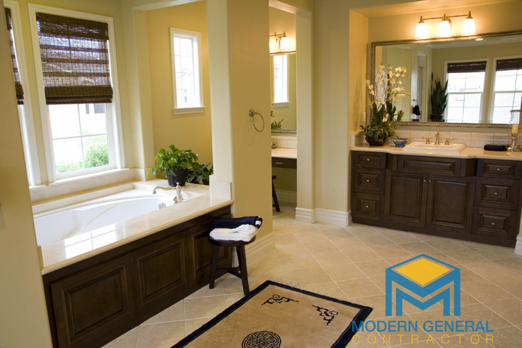 bathroom modern general contractor