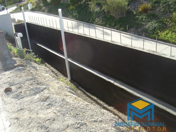 Retaining wall general contractor Los Angeles